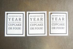 school cupcake tags