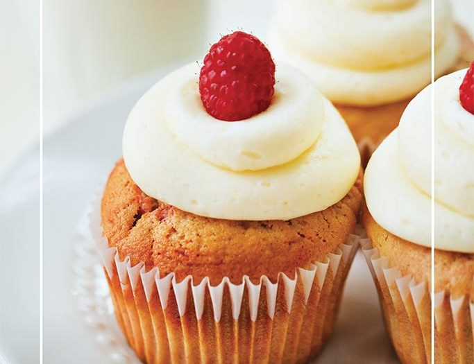 Raspberry Swirl cupcake recipe